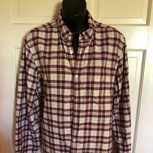 Men G H Bass & Co Long Sleeve Shirt size M